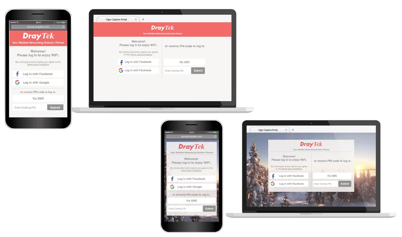 draytek-hotspot-web-portal-screenshots