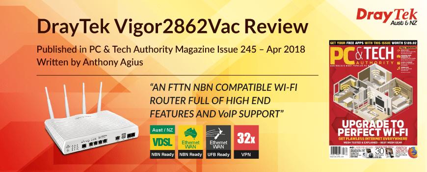 Vigor2862Vac – DrayTek Aust & NZ